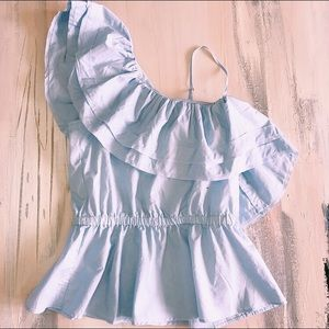 Super cute H&M blouse!
